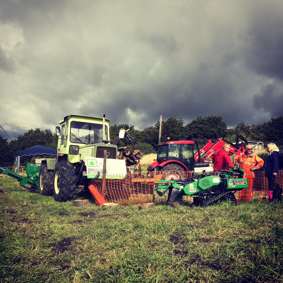 D W tree Services at Penistone Show