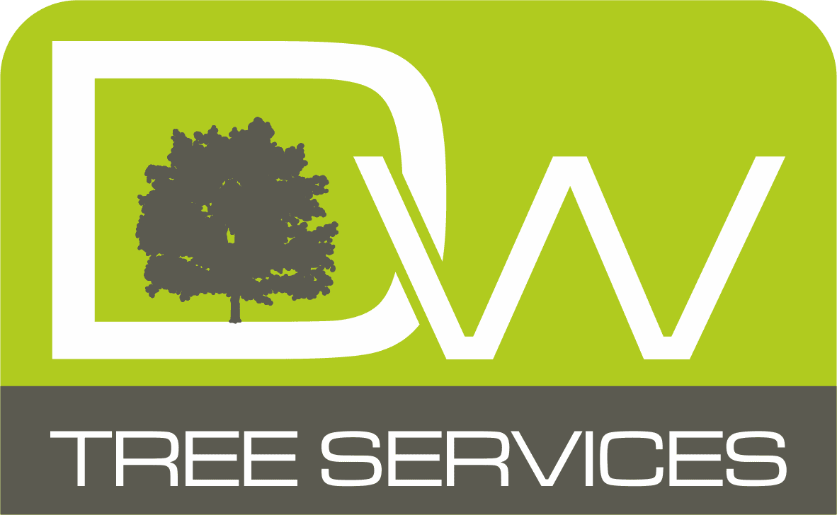 D W Tree Services Logo